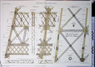 Plan de la tour Eiffel