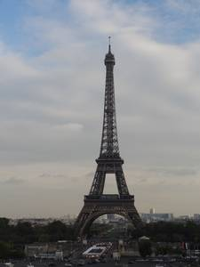 Vue générale sur la tour Eiffel