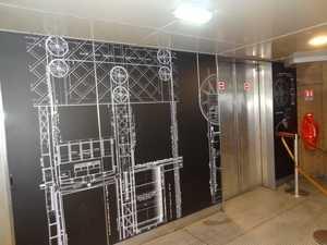 L'arrivée des ascenseurs