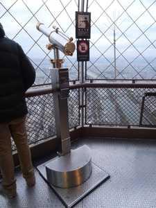 Longues-vues typiques de la tour Eiffel