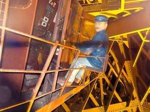 Mannequin machiniste des ascenseurs