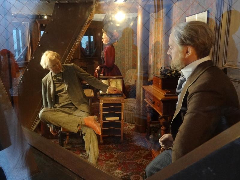 Mannequins dans le bureau d'Eiffel