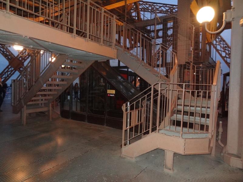 L'escalier technique