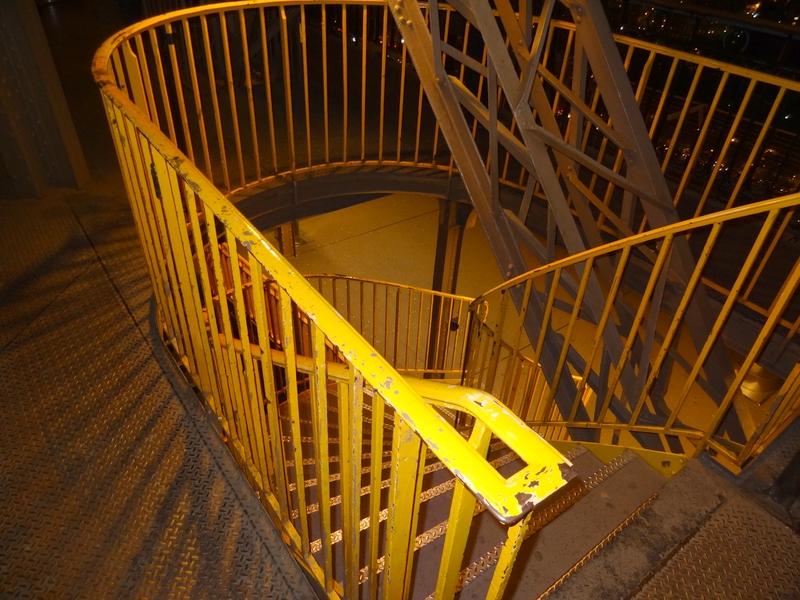 Escalier entre deux niveaux