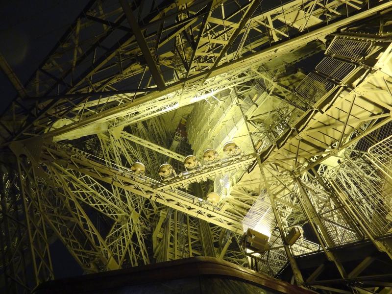 Structure interne de la tour Eiffel