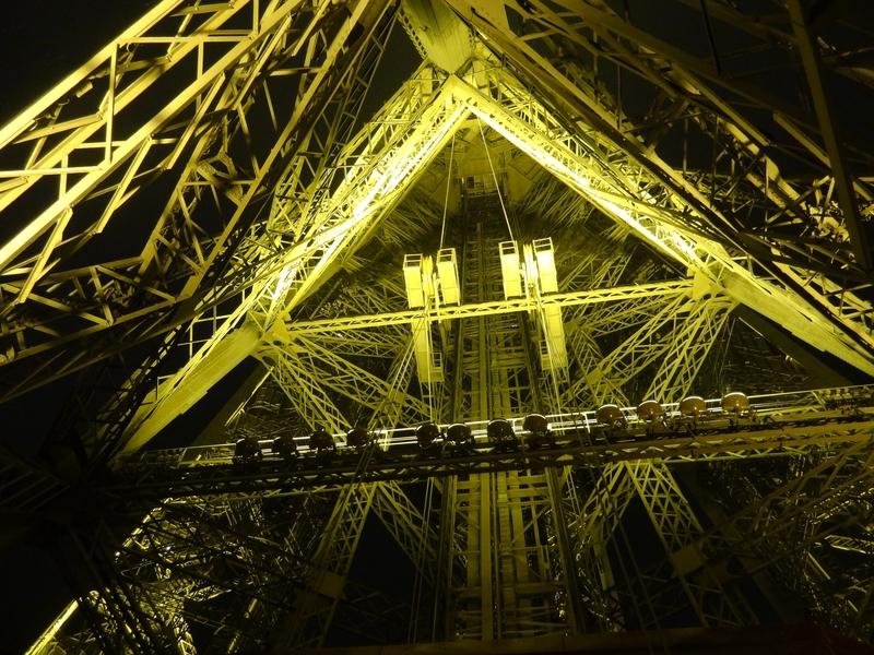 La structure interne d'un pilier