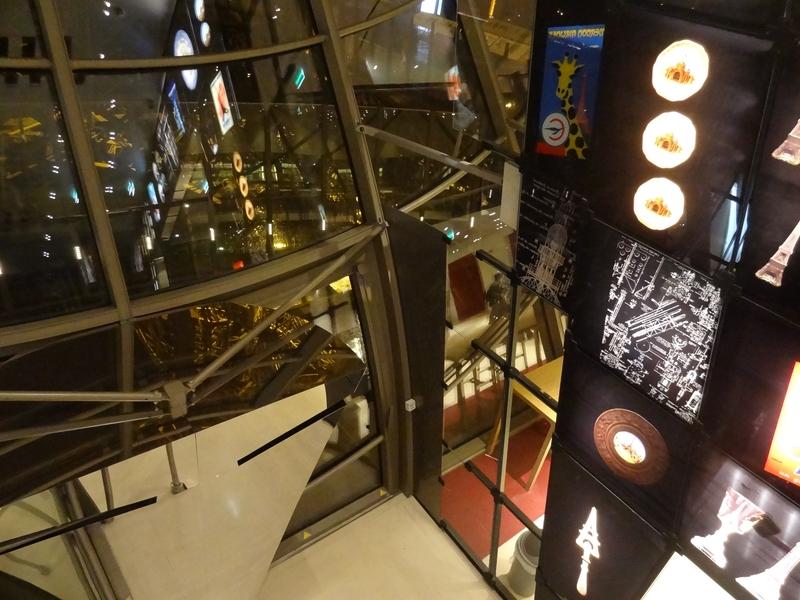 La vue du 2e niveau, Hall Ferrié