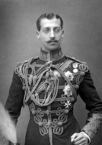 prince Albert-Victor de Galles