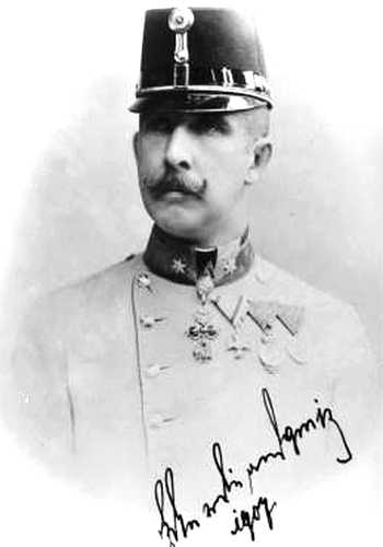 L'archiduc Charles Ferdinand d'Autriche