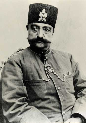 Shah d'Iran Nasser-al-Din Shah Qajar