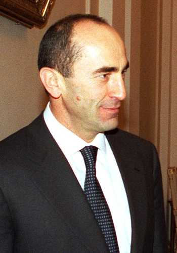 Le président arménien Robert Kotcharian