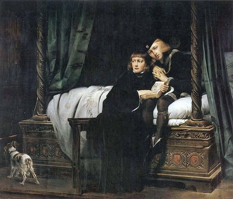 Edouard V et son frère